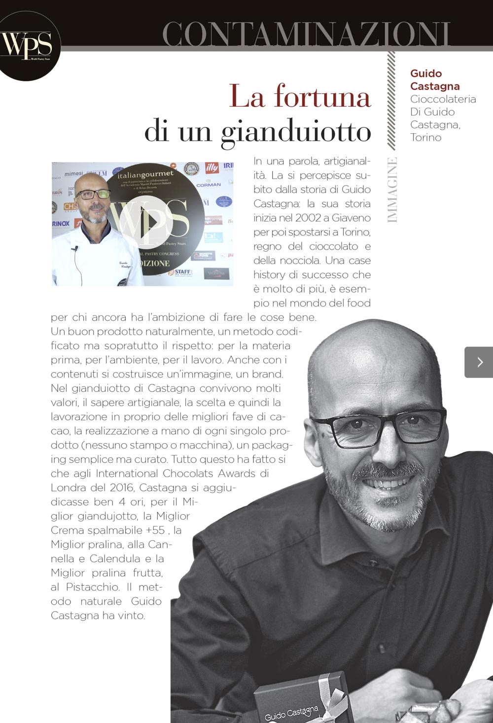 Guido Castagna intervista World Pastry Stars 2018